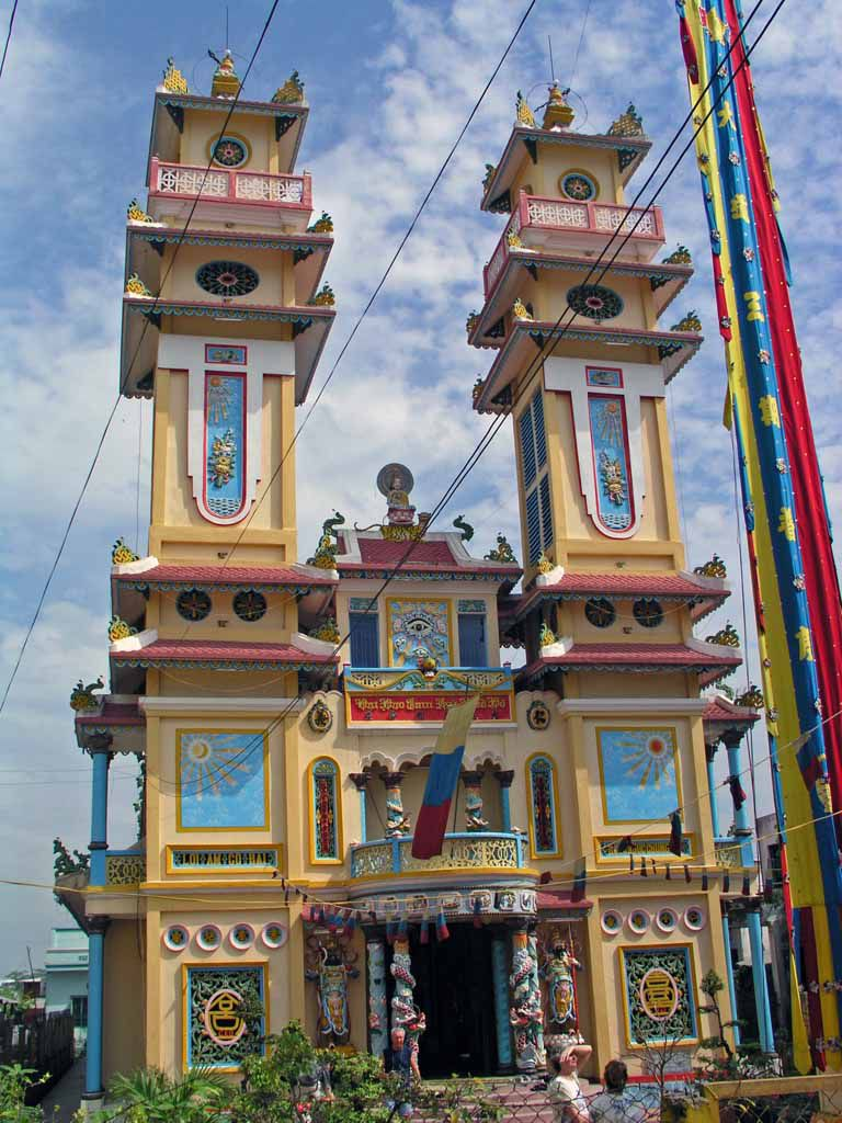 Ben Luc, Tempel der Cao Dai Sekte