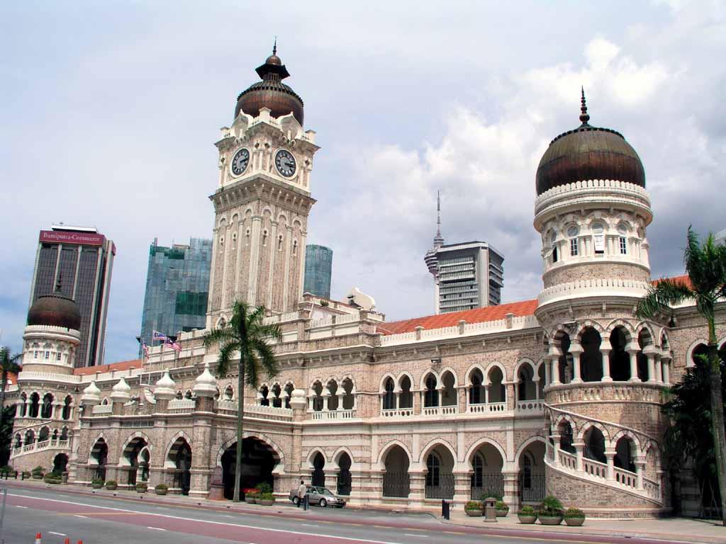 Bangunan Sultan Abdul Samad mit dem Uhrturm