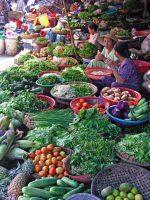 Hue, Markt