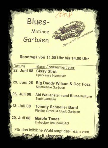 Programm der Musikmatinee Garbsen2008