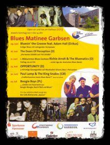 Programm der Musikmatinee Garbsen 2013