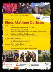 Programm der Musikmatinee Garbsen 2014