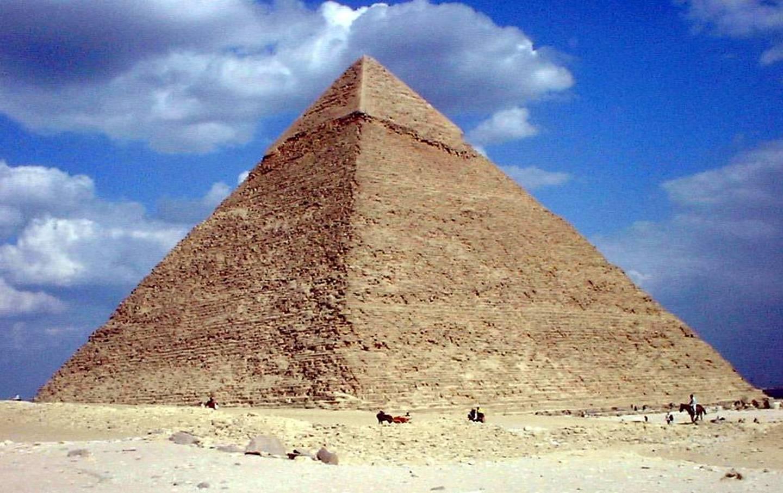 Kairo, Cheops Pyramide
