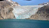 Grönland, Prinz-Christian-Sund, Gletscher
