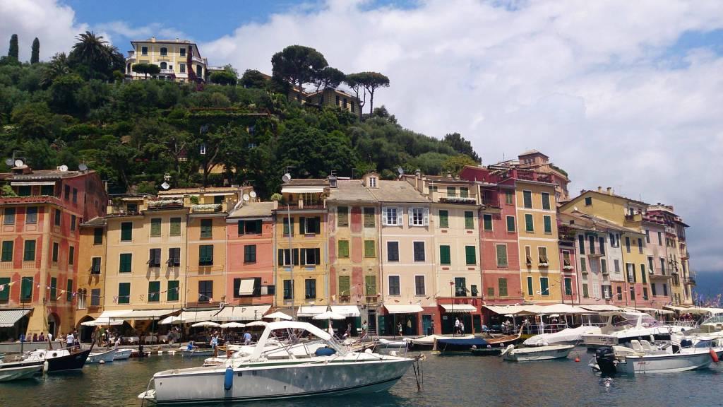 Portofino, Hafenpanorama