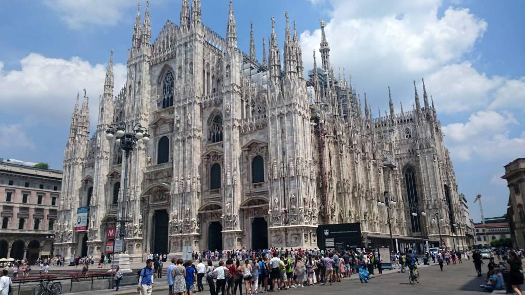 Mailand, Domplatz, Dom