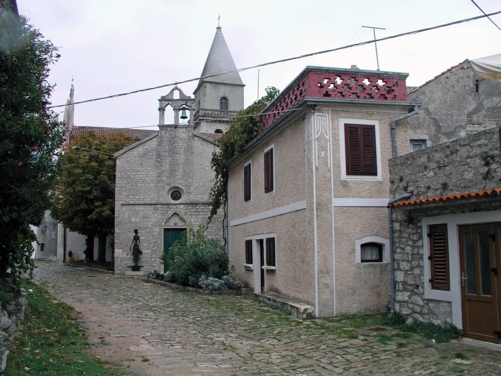 Insel Cres, Osor, Altstadt